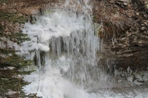 freezing falls